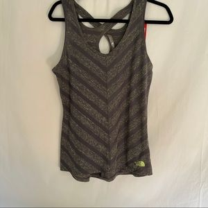 The North face striped breezeback tank